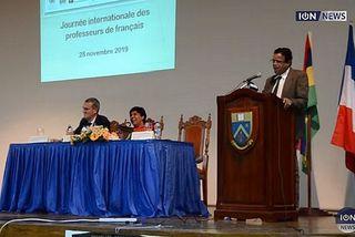 Colloque des professeurs de français à l'île Maurice
