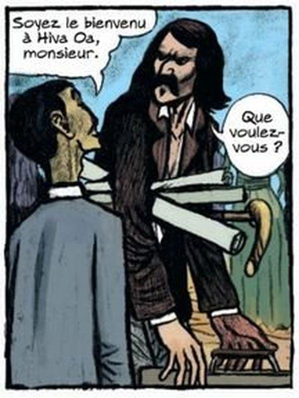 BD Gauguin Bienvenue