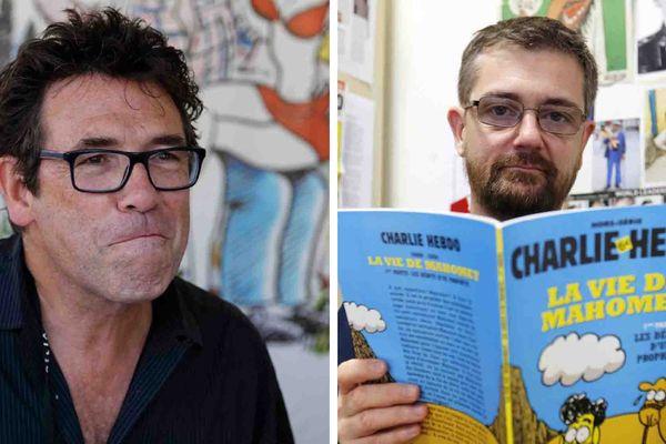 Tignous et Charb