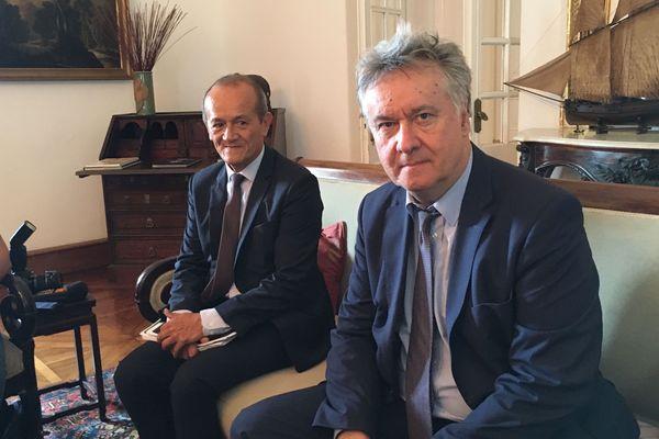 Francis Amand, délégué à la concurrence Outre-mer, est arrivé à La Réunion ce lundi.