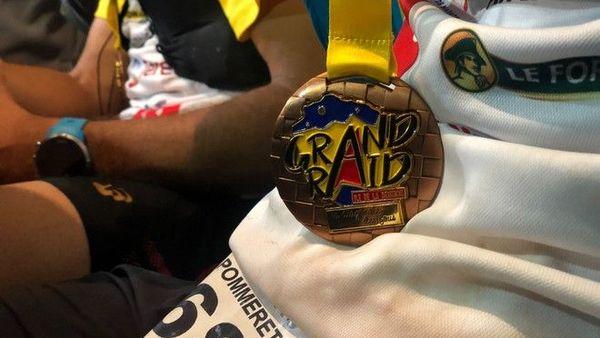 Grand Raid 2019 médaille 2eme Diagonale des Fous Ludovic Pommeret 181019