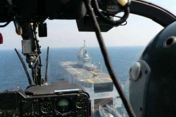 coronavirus envoi porte-hélicoptères le Mistral Marine 260320