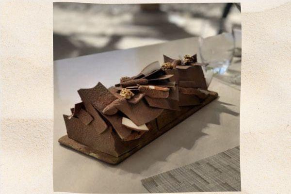 Recette : bûche chocolat, coco et aito