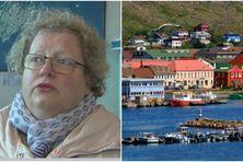 Karine Claireaux, sénateur-maire de Saint-Pierre et Miquelon