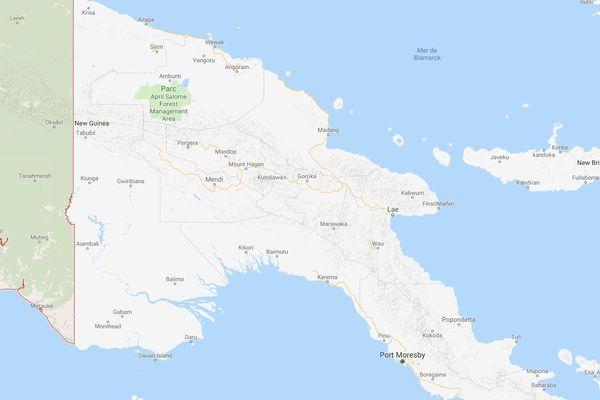 PNG séisme