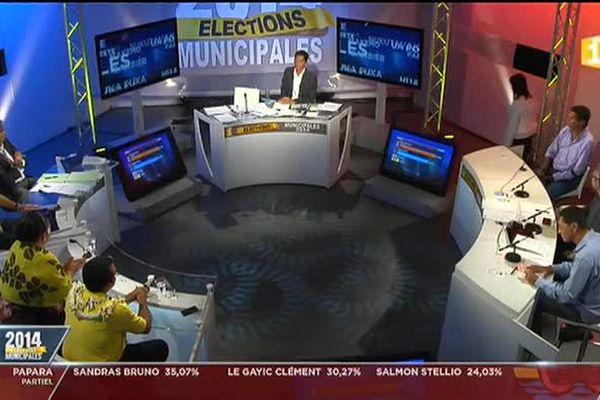 Polynésie 1ère soirée elections
