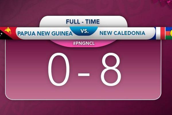 Victoire des U19 filles aux Cook contre la PNG, août 2019
