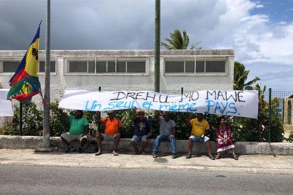 Mobilisation Ican / Usine du Sud- usine pays du 30 octobre 2020 : soutien à Lifou