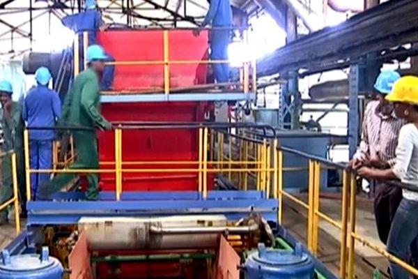 Intérieur usine du Galion