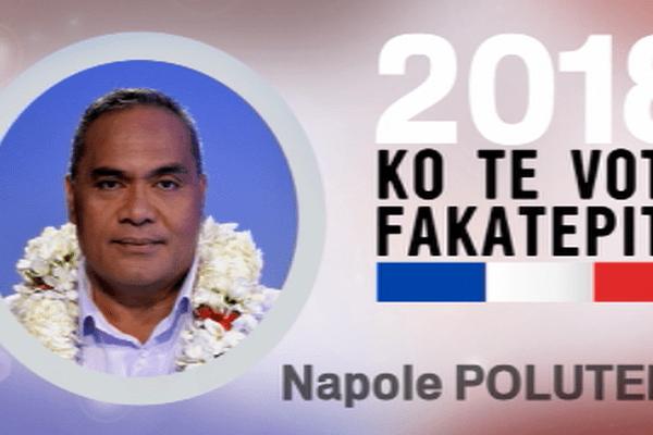 Napole Polutele candidat à l'élection législative partielle de 2018