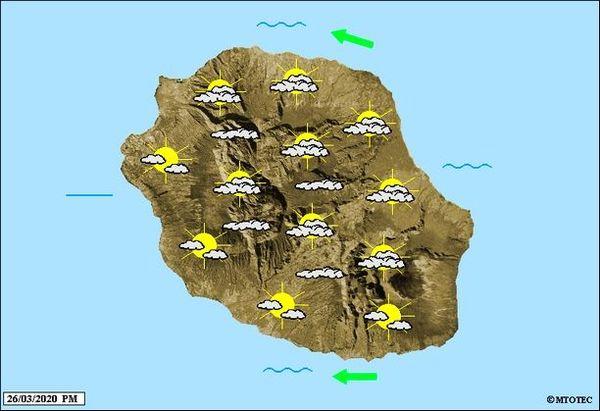 Carte météo 27 mars 2020