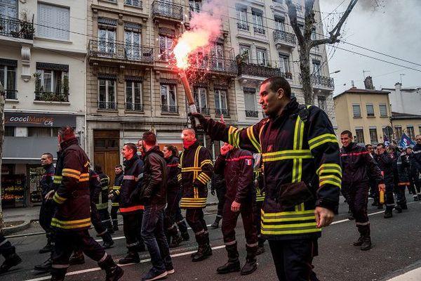 Pompiers lyon
