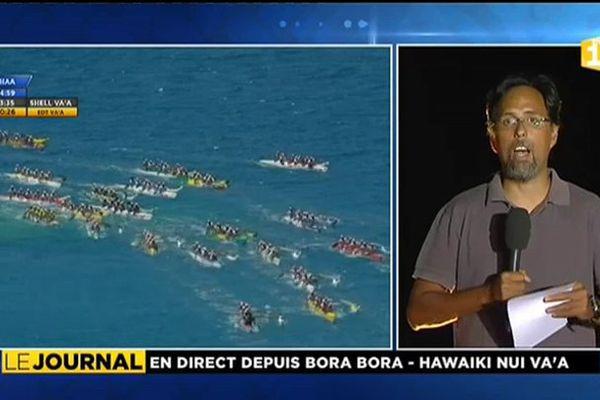 Hawaiki nui : Team OPT gagne la 2e étape, EDT en tête du général