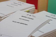 Liste électorale référendaire, au Mont-Dore.