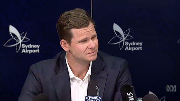 Cricket australien: Steve Smith en conférence de presse 29 mars