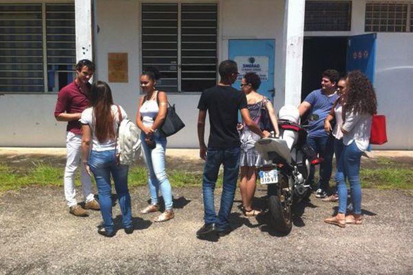 Les étudiants du campus Saint-Denis