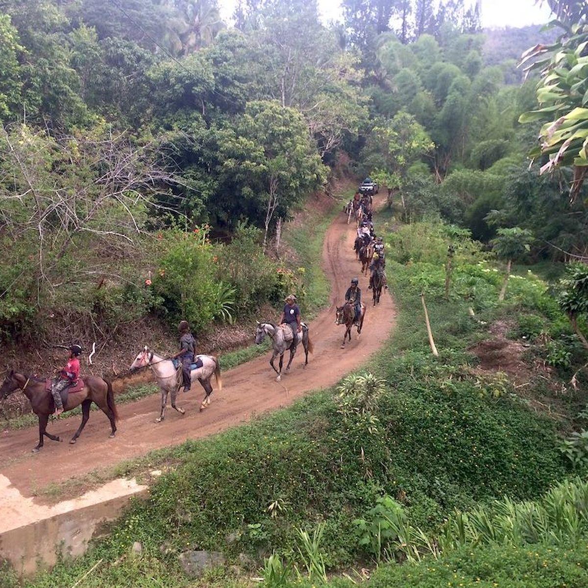 Vacances à cheval sur les traces des anciens