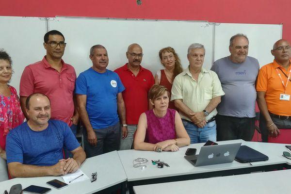 Ce mercredi 8 octobre, tous les syndicats réunis au sein d'une intersyndicale ont annoncé qu'ils appelleraient à la grève lors de la venue du chef de l'Etat.