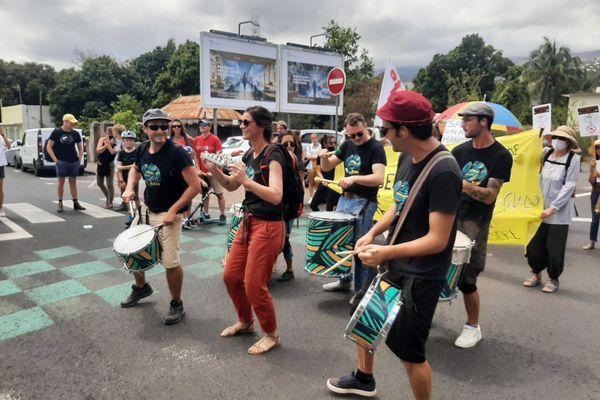 Marche pour le climat à Saint-Paul