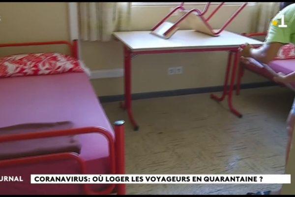 Coronavirus : les locaux de la jeunesse et des sports accueillent les touristes confinés