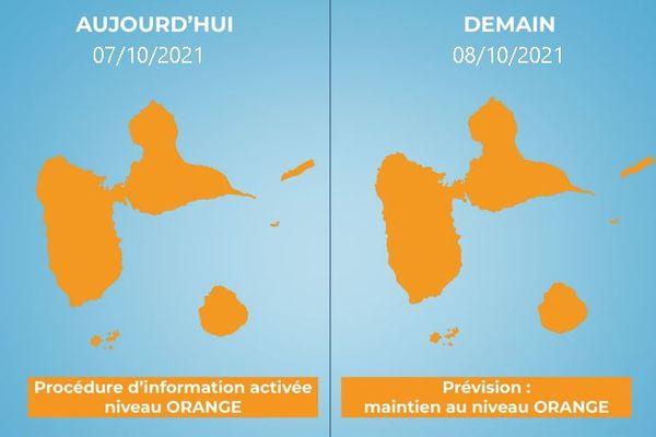 Alerte orange : mauvaise qualité de l'air 08/10/2021