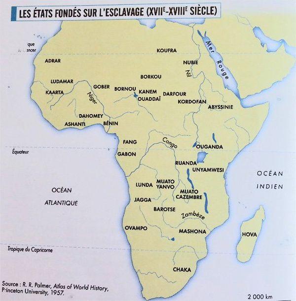 esclaves afrique