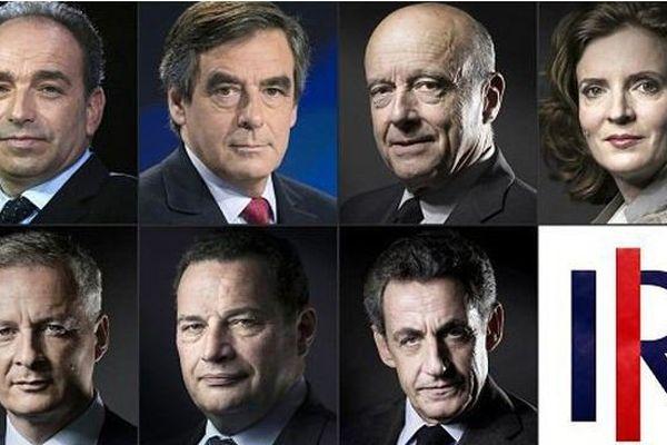 Primaires du 20 novembre : les 7 candidats