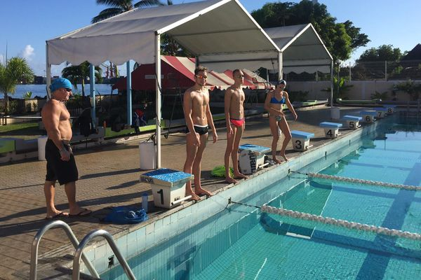 Entrainement Tahiti Swimming Experience