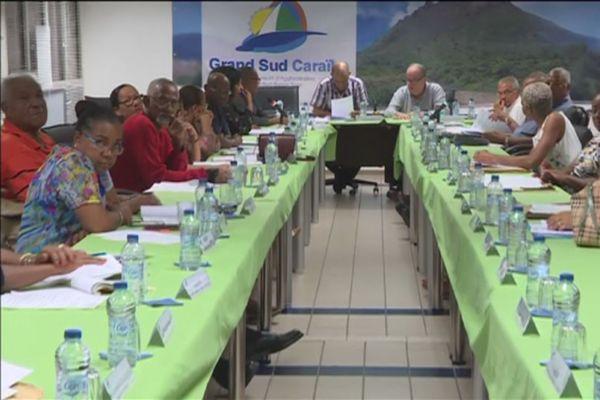 communauté d'agglomération Grand Sud Caraibes.