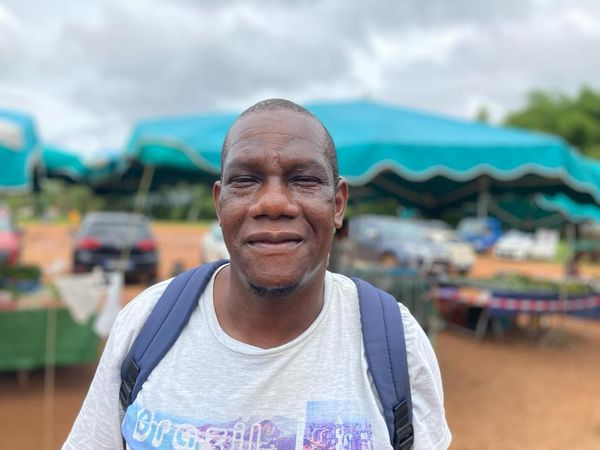 Les clients de retour au marché de Cacao