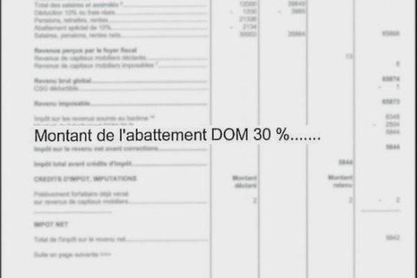 Abattement fiscal DOM impot sur le revenu 210918