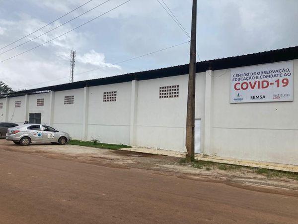 Le centre Covid d'Oiapoqué