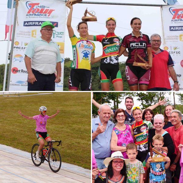 La Calédonienne a brillé lors du dernier Tour cycliste de Nouvelle-Calédonie