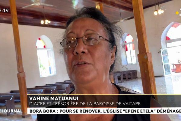 Le temple protestant de Vaitape fait peau neuve