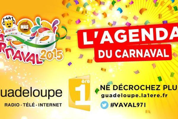 L'Agenda du Carnaval 2015
