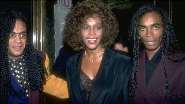 les Milli Vanilli avec Whitney Houston