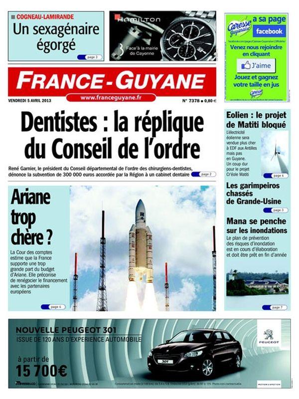 Une France Guyane 05 avril