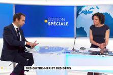 Sébastien Lecornu et Laurence Théatin lors de l'édition spéciale
