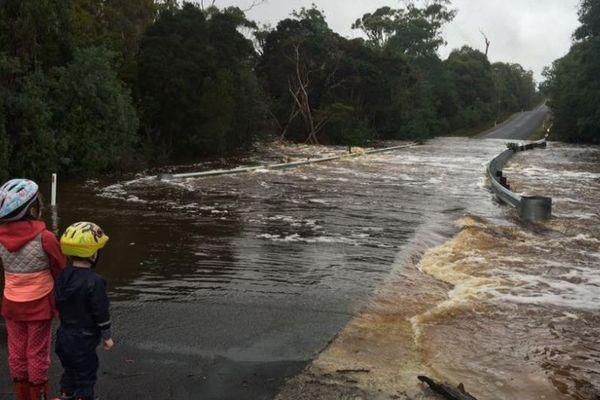 Tempête en Australie
