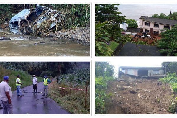 Intempéries en Martinique
