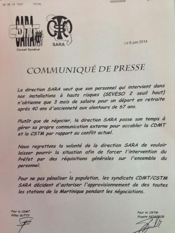 communiqué CDMT-CSTM