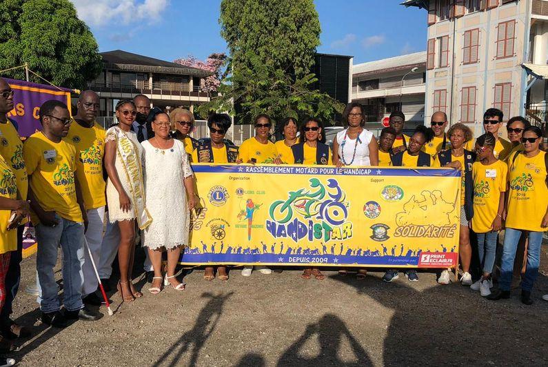 10e édition du Handistar entre Cayenne et Kourou