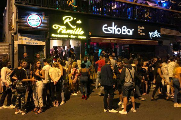 Rues de St Gilles avant, pendant et après la fermeture des bars