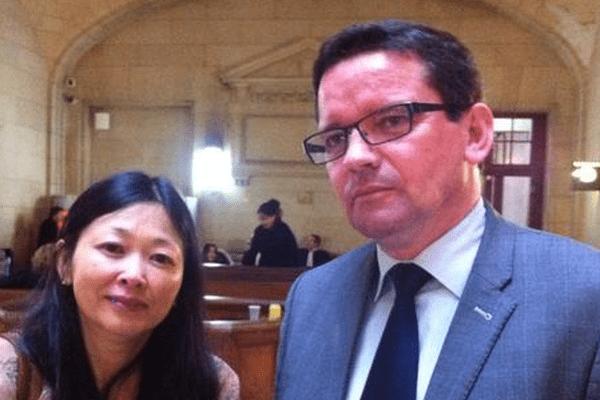 Caroline Tang et Marc Hélias