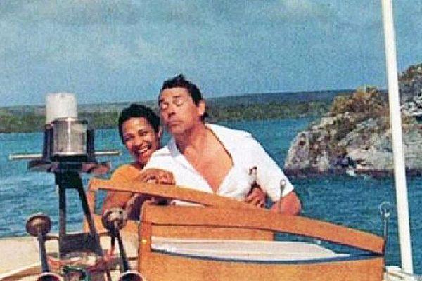 Jacques Brel et sa femme Maddly aux Marquises