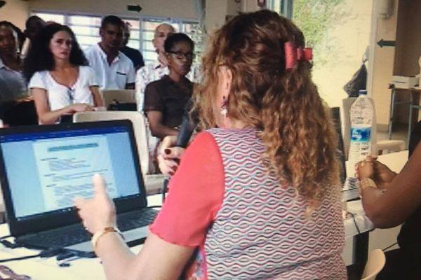 Rentrée des enseignants au Collège de Front de Mer
