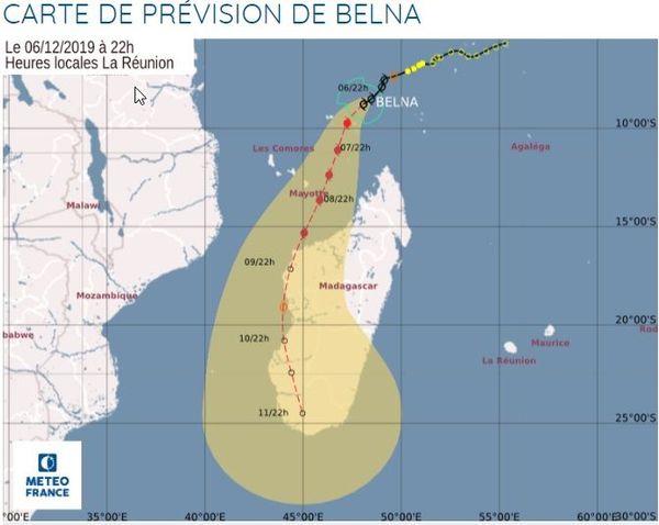 météo Mayotte Belna