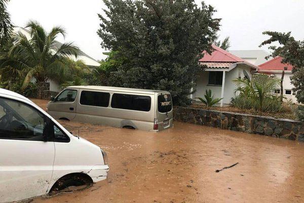 Inondations à Saint Martin