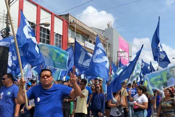 Manifestation pro Waldes Goes à Macapa