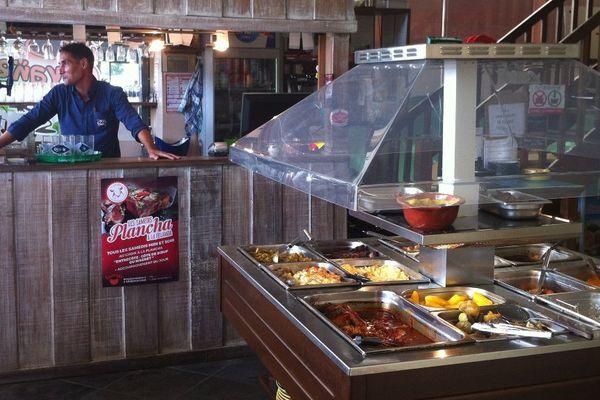Un des restaurants de Marc Sylvestre, féru de cuisine